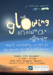 glowing snowman flyer low res
