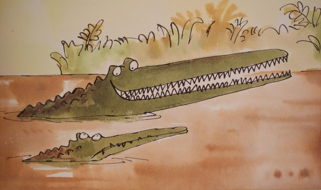 enormous crocodile