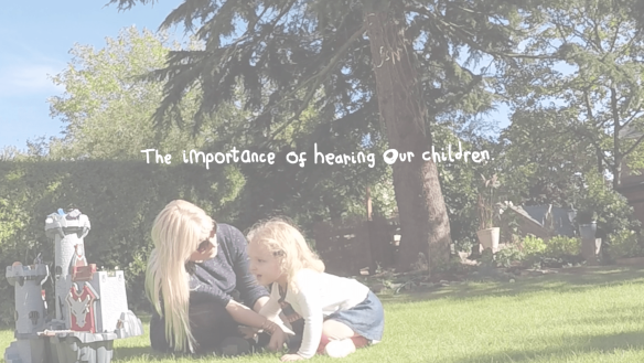 The importance of hearing our children